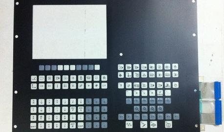 NUM 750 Face avant pupitre CRT 10″ - Pièces détachées machines outils