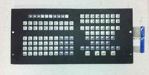 NUM 750 Clavier déporté face avant centre - Pièces détachées machines outils