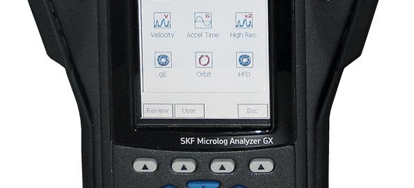 Analyseur vibrations pour machines outils